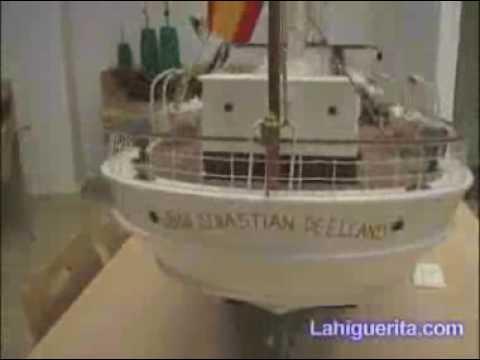 Exposición de maquetas de barcos de Isla Cristina