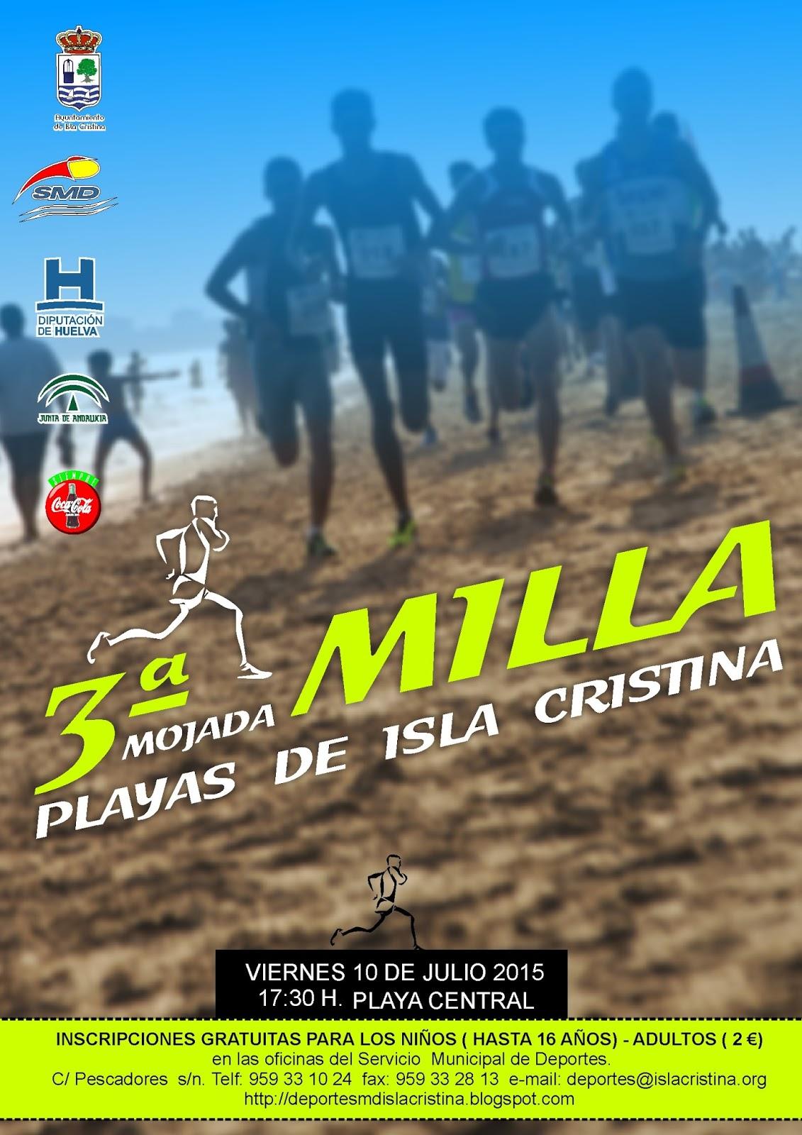 III Milla Mojada Playas de Isla Cristina