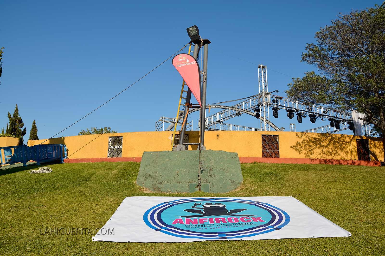 Éxito en la Tercera Edición del AnfiRock Sound Festival de Isla Cristina