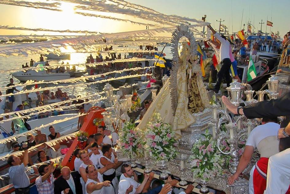 Fiestas del Carmen 2015 en Isla Cristina