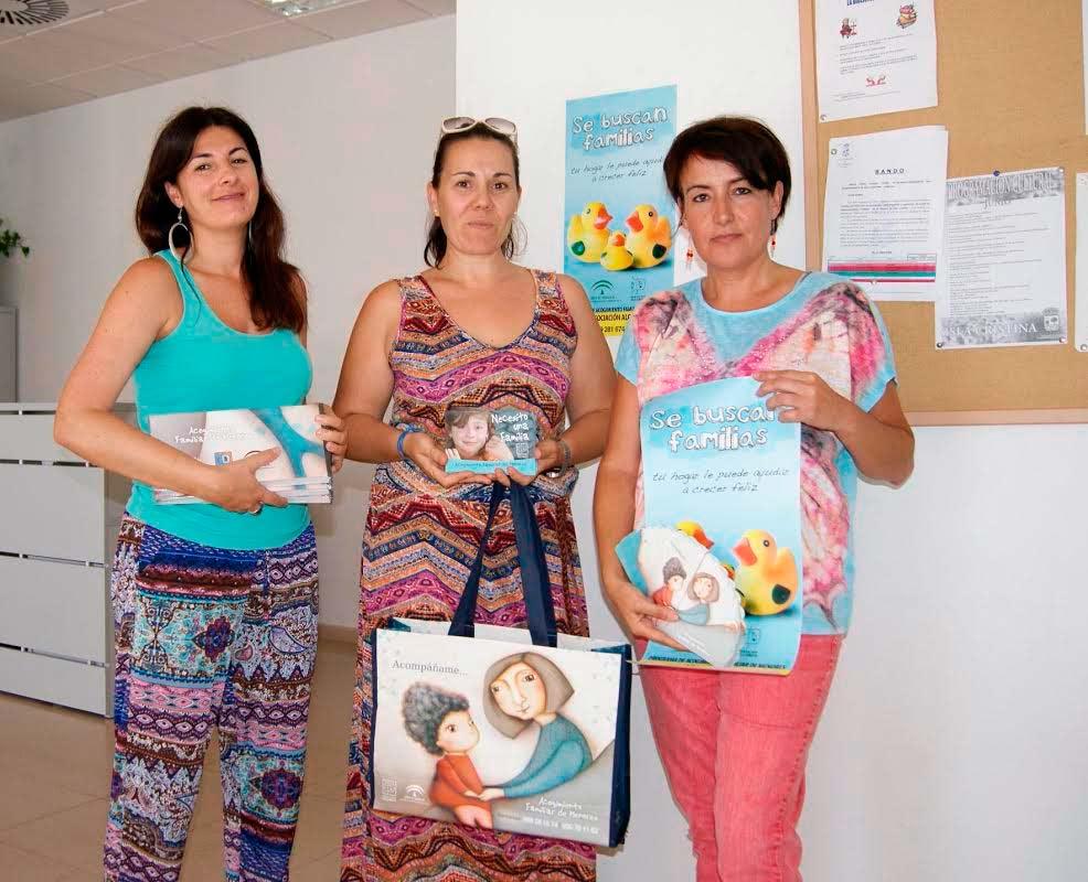 Isla Cristina acoge una Campaña para promover el acogimiento familiar de menores