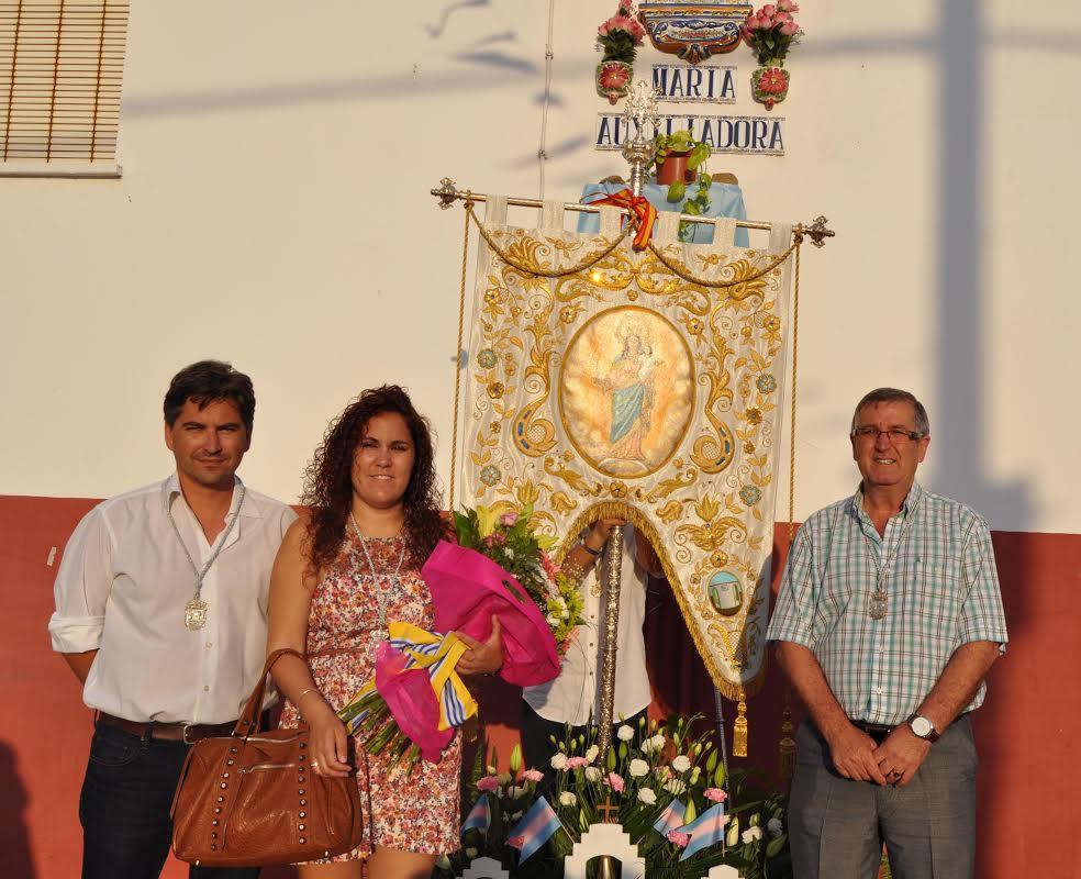 Multitudinaria Ofrenda de flores a la Virgen María Auxiliadora, Patrona de Pozo del Camino