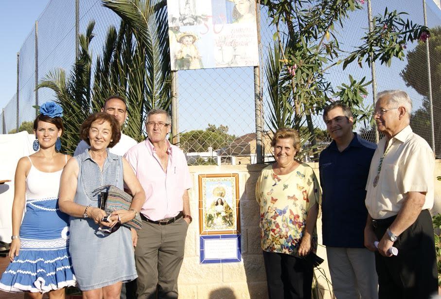 Recepción a la Virgen de la Esperanza en Urbasur