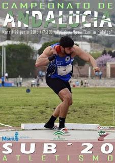 Los Cinco Onubenses Suman 5 Medallas, 2 de Oro y 3 de Plata en el VIII Campeonato de Andalucía de Atletismo Sub´20