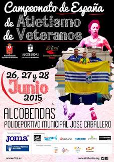 Elena Cobos, Antonio Palma y Marcos Alonso, a por las Medallas del L Campeonato de España de Atletismo de Veteranos de aire libre