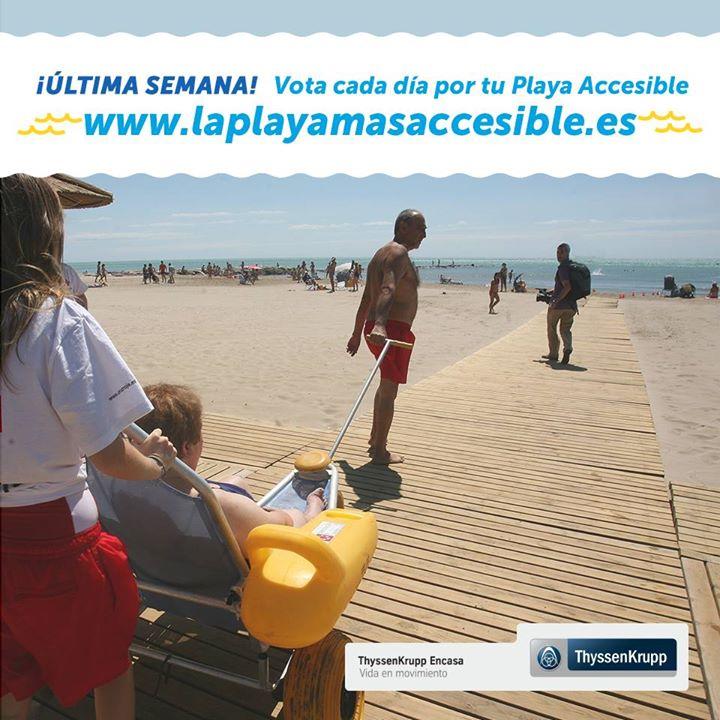 """Premio """"La Playa más Accesible 2015"""""""