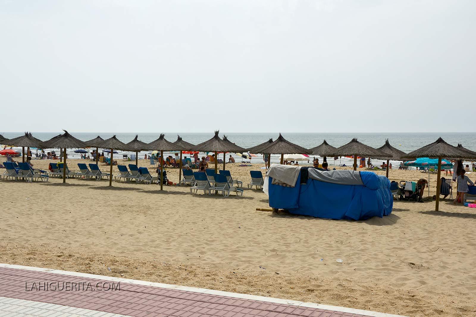 La Playa de Isla Cristina compite por ser la más accesible de España