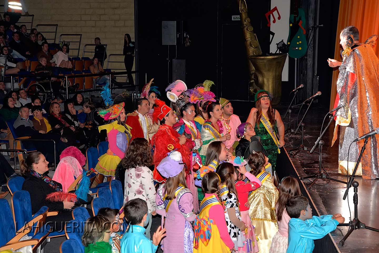 Reinas, damas de honor y Presentadores del Carnaval de Isla Cristina