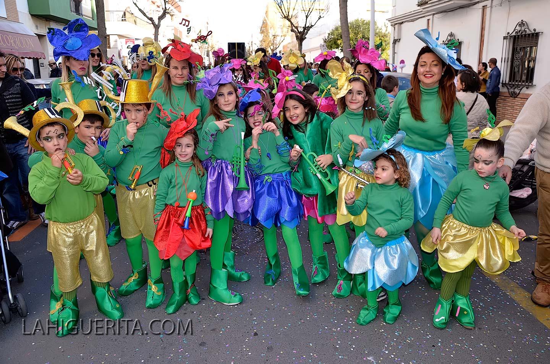 Desfile infantil del Carnaval de Isla Cristina 2015