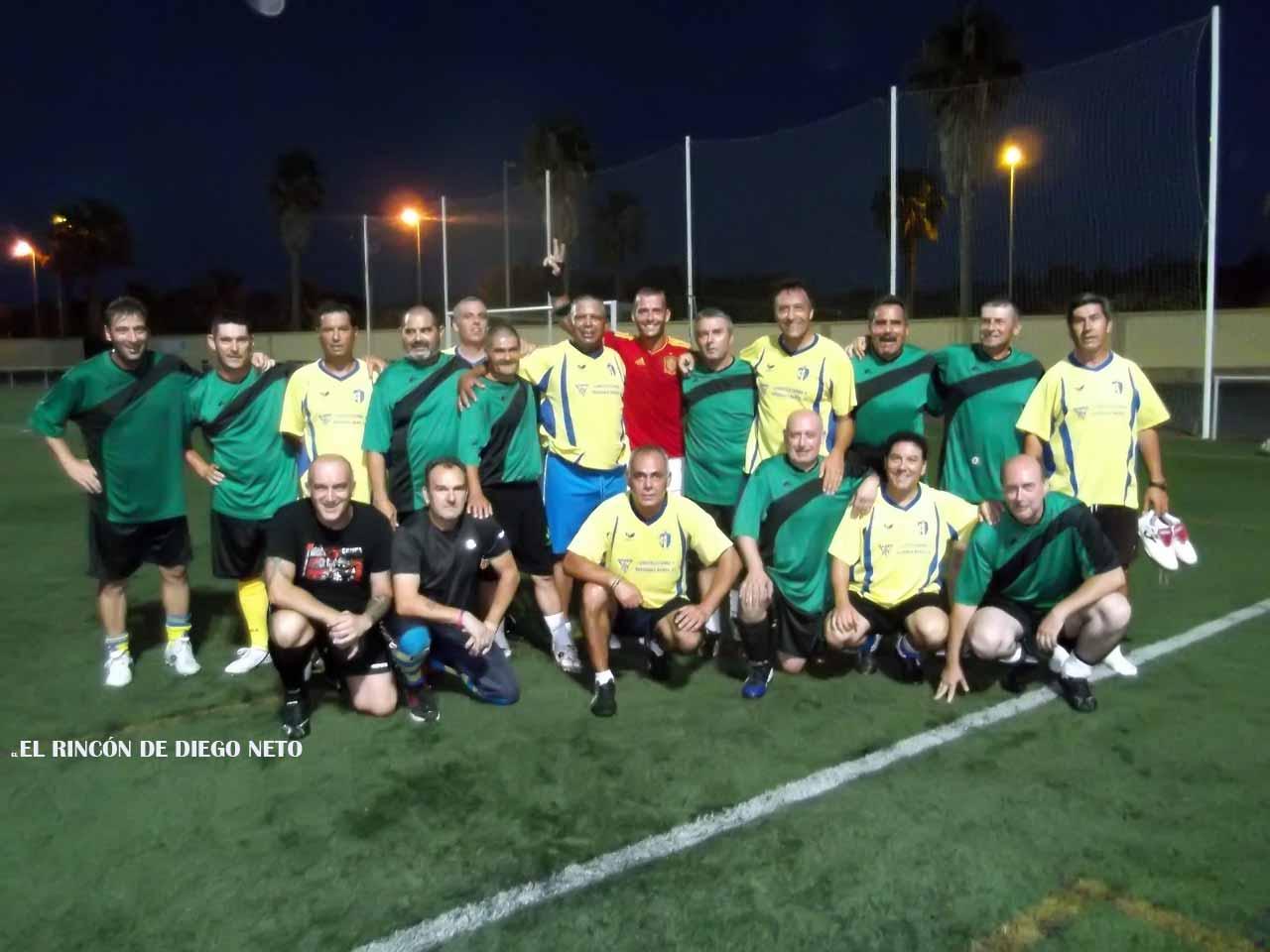 Veteranos Isla Cristina F.C. Campeones del Torneo de Veteranos de Fútbol 7 Ntra. Sra. del Carmen