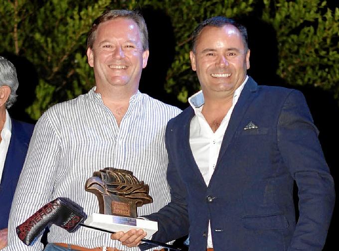 J.F. Núñez gana el Torneo de la gala del Islantilla Golf Resort