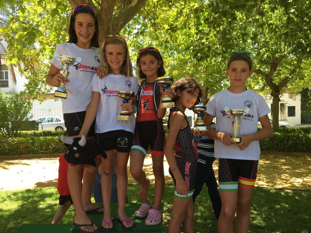 El Iberman Mejor Club de Triatlón en el Ironbaby - Marmolejo