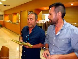 Manolo Vaz Homenajeado por los Entrenadores de Isla Cristina