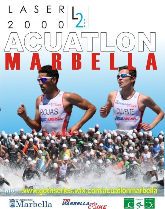 Las Hermanas Jiménez Ganan el Aquatlón de Menores Ciudad de Marbella
