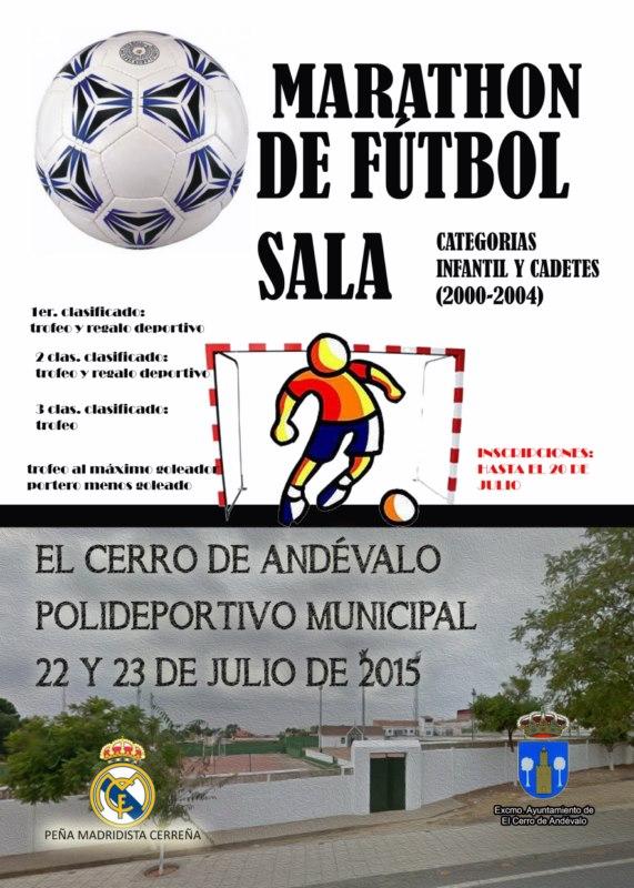Maratón de Fútbol sala Infantil El Cerro de Andévalo