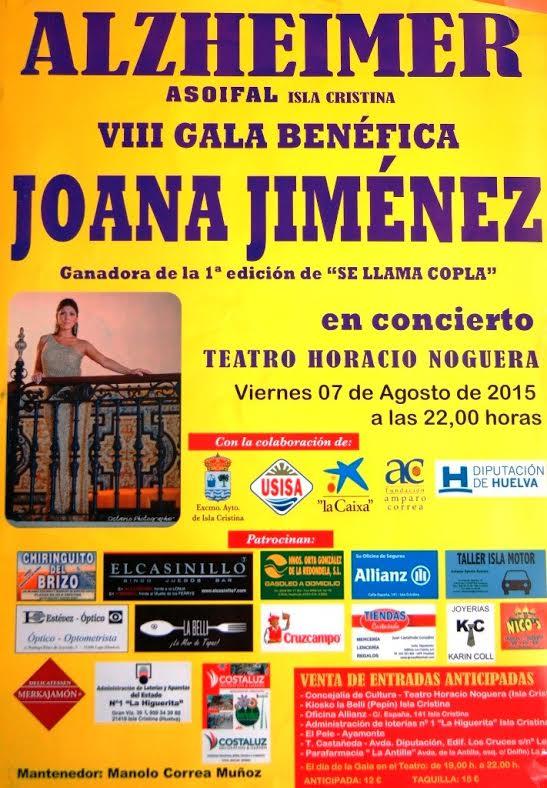 Asoifal prepara su VIII Gala Benéfica con Joana Jiménez