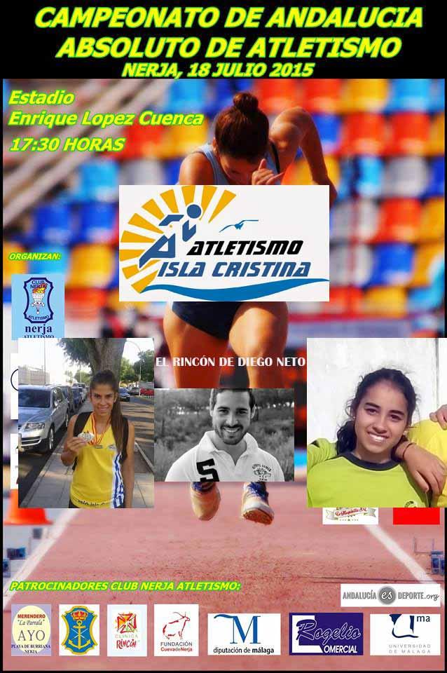 Nos Vamos al Campeonato de Andalucía Absoluto de Atletismo al aire libre