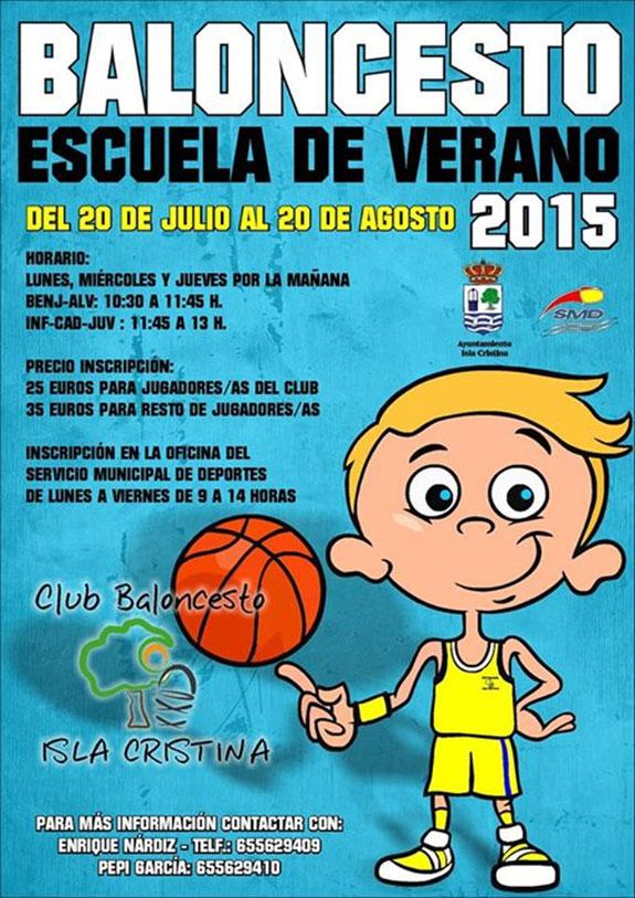 Sigue abierta en Isla Cristina la inscripción para la Escuela de Baloncesto