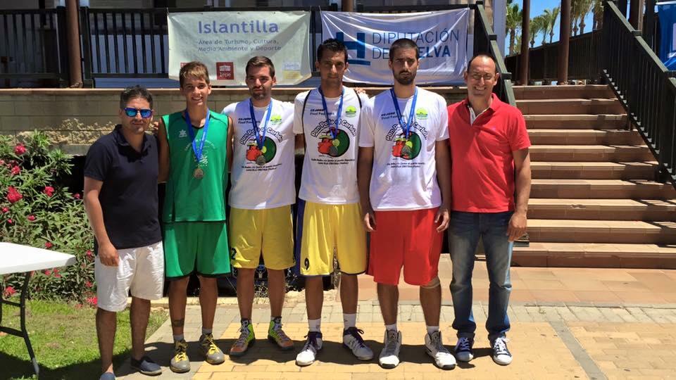 El CB La Higuerita de Isla Cristina gana el 3×3 de Islantilla