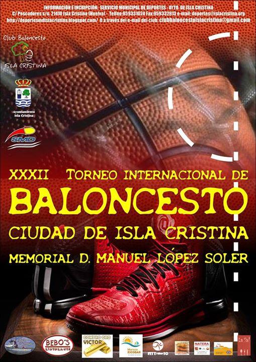 XXXII Trofeo Ciudad de Isla Cristina-Memorial Manuel López Soler