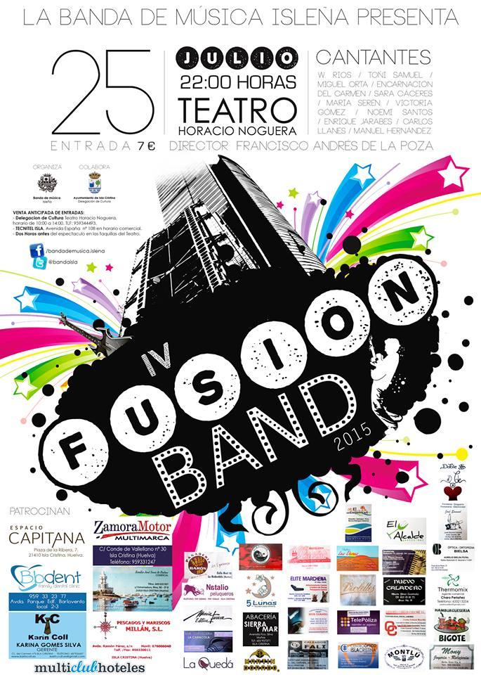 """La Banda de Música Isleña Presenta """"IV Fusión Band"""