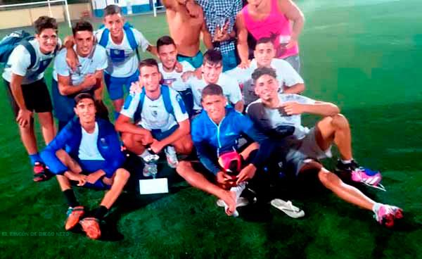 Los Punteros C.F. Campeones del V Marathón de Fútbol 7 Ntra. Sra. del Mar