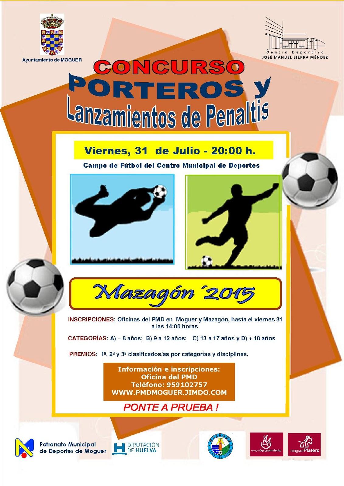 Concurso de Porteros y Lanzamiento de Penaltis de Mazagón
