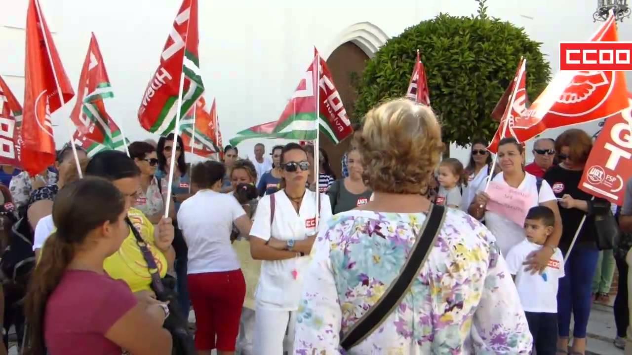 CCOO denuncia los impagos en dependencia de la Junta en Isla Cristina
