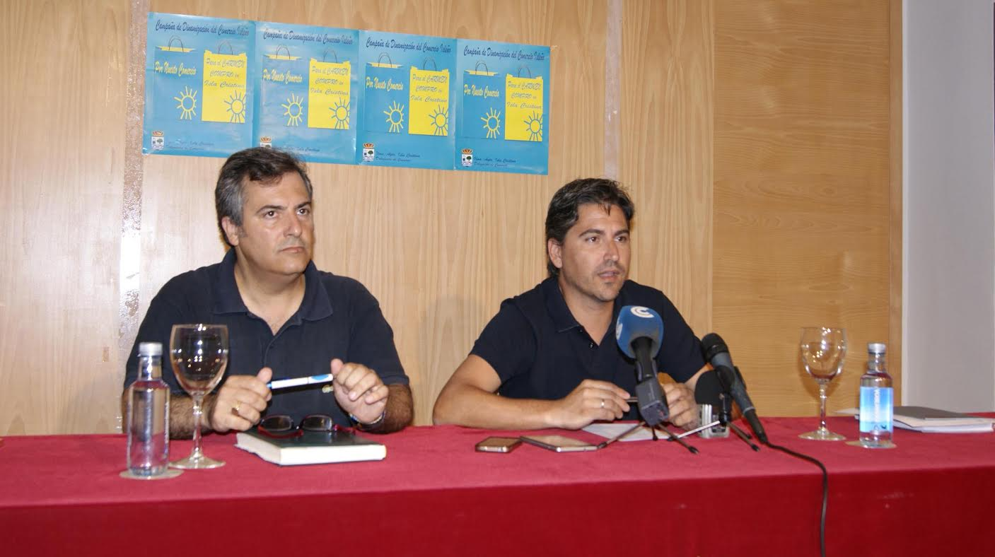 Presentada una Campaña para dinamizar le comercio local durante las Fiestas del Carmen