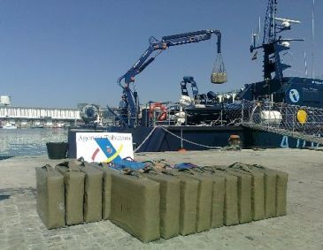 Dos isleños implicado en un alijo de 4.000 kilos de hachís
