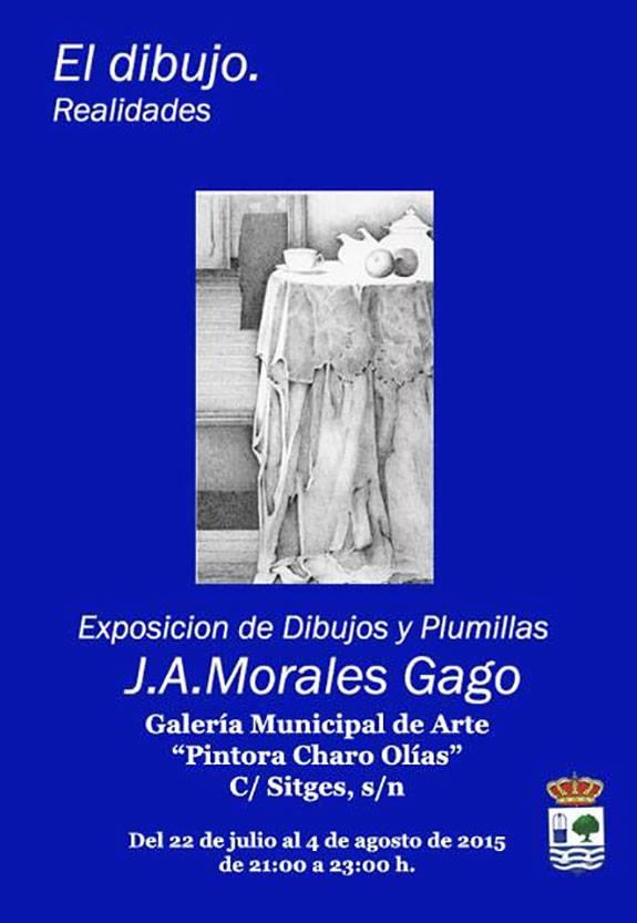 Inauguración en Isla Cristina de la Exposición de Dibujos de Juan Adolfo Morales