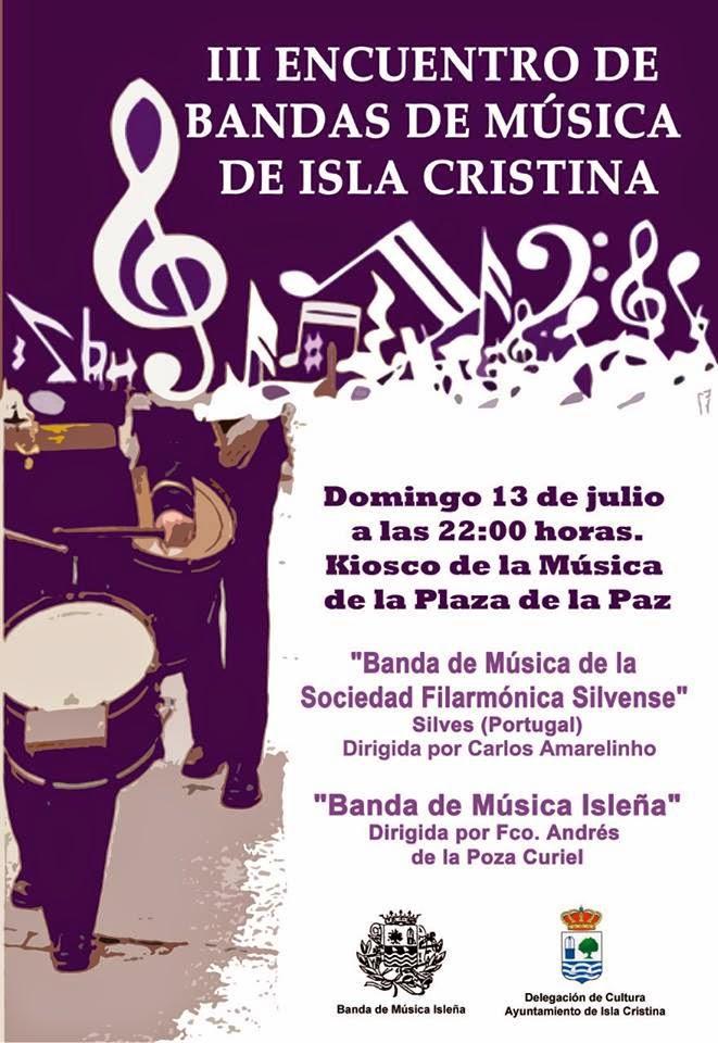 Isla Cristina Celebra III Encuentro de Bandas de Música