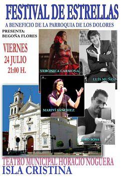 Festival de Estrellas en Isla Cristina