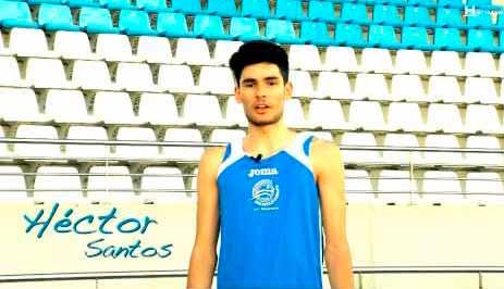 Héctor Santos entre los diez mejores del Mundial Juvenil de Atletismo