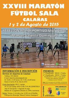 XXVIII Maratón de Fútbol Sala de Calañas