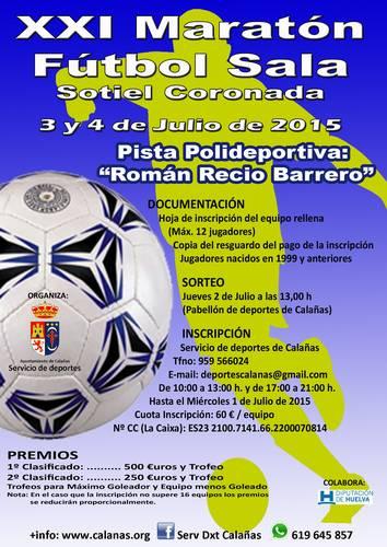 El conjunto Choquero Humilde, Campeón del XXI Maratón de Fútbol Sala - Sotiel Coronada