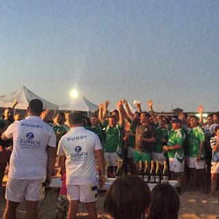Mercenarios Campeón del II Torneo de Rugby Playa de Isla Cristina