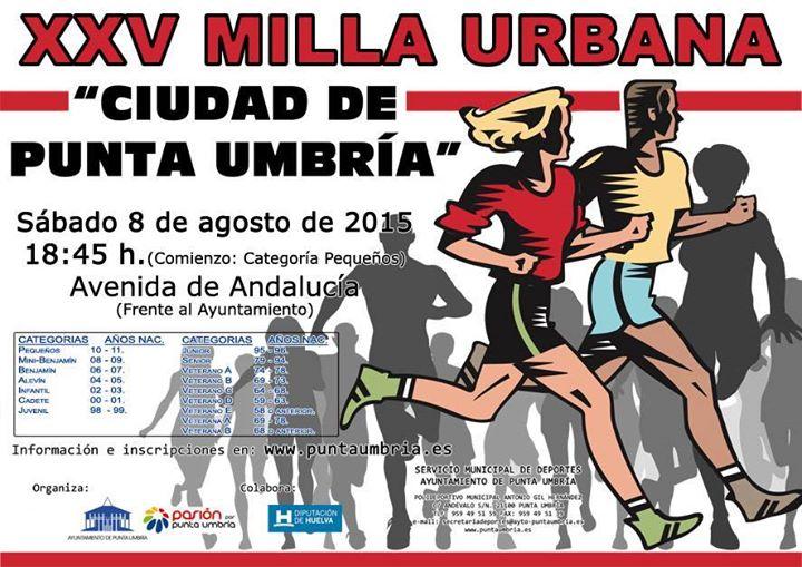 XXV Milla Urbana Ciudad de Punta Umbría