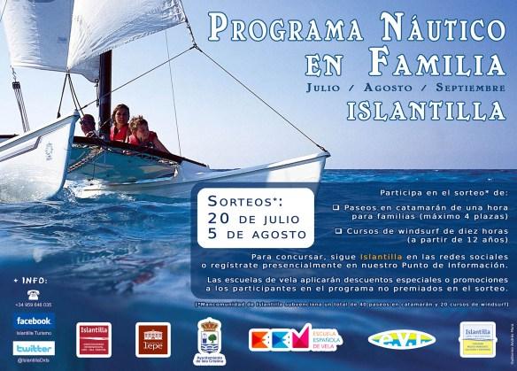 Islantilla presenta su 'Programa Náutico en Familia'