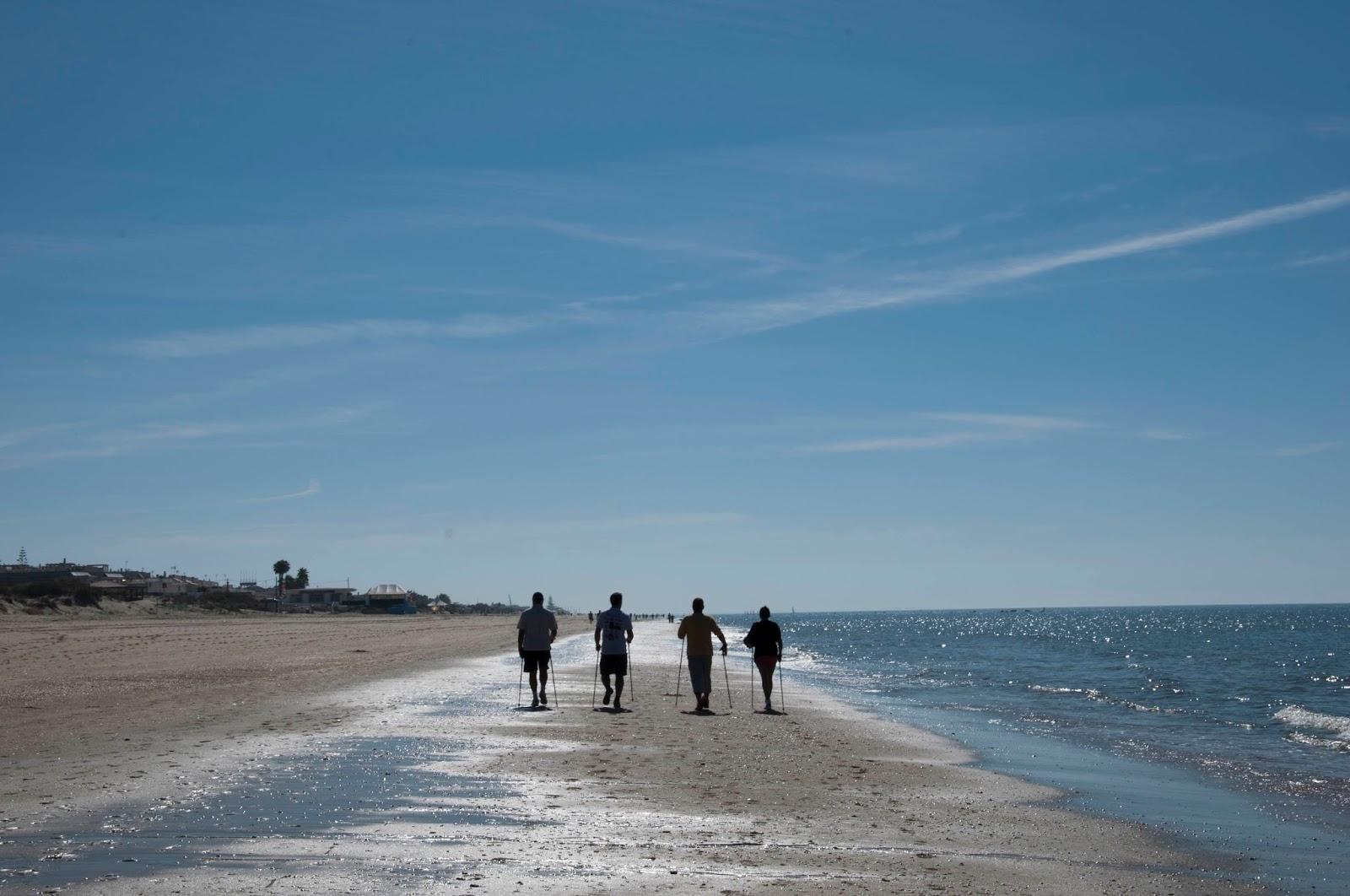 El Nordic Walking vuelve a Islantilla