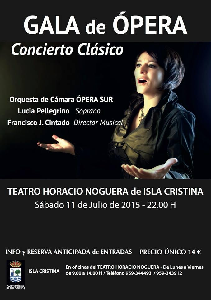 Concierto Clásico y Gala de Ópera en Isla Cristina