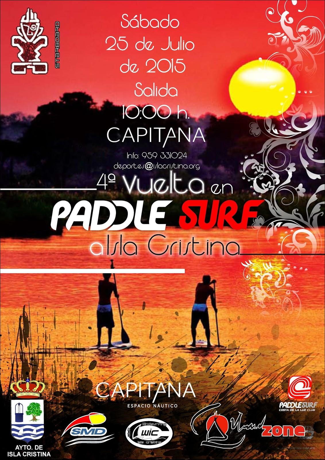 IV Vuelta en Paddle Surf de Isla Cristina