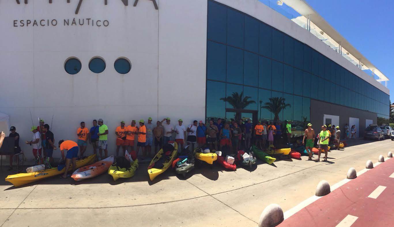 Gran ambiente deportivo en Isla Cristina este pasado fin de semana
