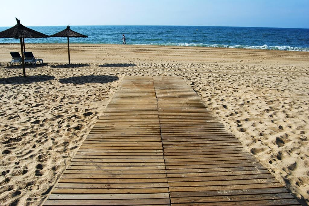 La Antilla e Isla Cristina se encuentran entre las playas más accesibles de España