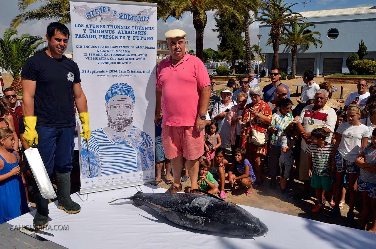 La fiesta del atún en Isla Cristina volverá en septiembre