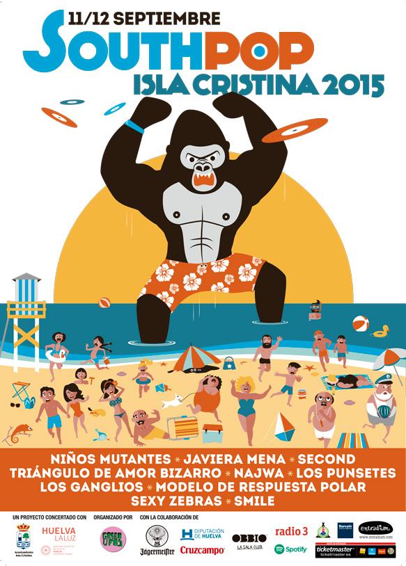 El South Pop Isla Cristina cierra el cartel de su octava edición con grupos de primer nivel nacional