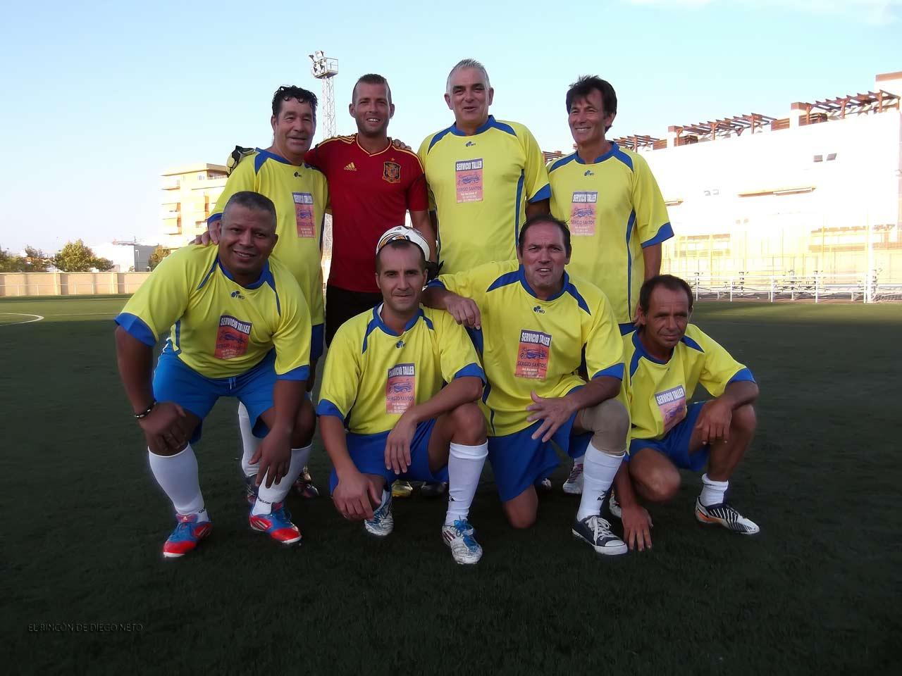 IV Torneo de Veteranos de Fútbol 7 Nuestra Señora del Carmen