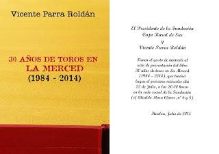 Vicente Parra presenta su libro