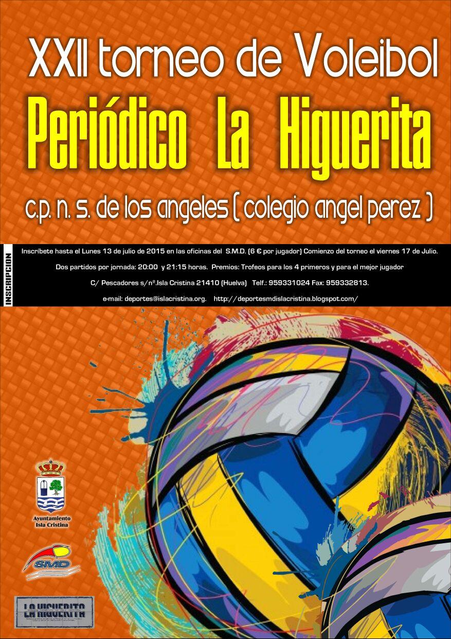 XXII Torneo de Voleibol