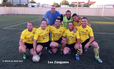 Última jornada de liga del campeonato de fútbol 7 en isla